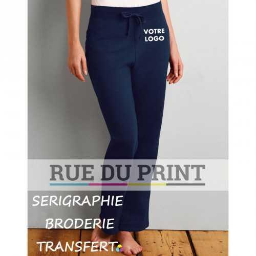 Pantalon droit femme