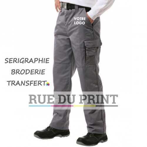 Pantalon Contraste