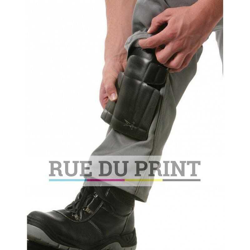 Coussin publicité genou 100 % mousse de vinyle acétate copolymère compressée vendu par paire environ 60 g la paire