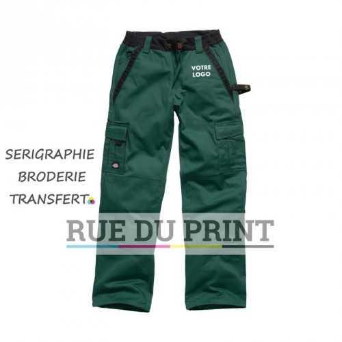 Pantalon publicité Industry 300 65% polyester, 35% coton, 300 g/m2 taille élastiquée attache marteau