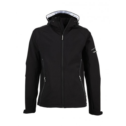 Softshell personnalisé Fashion 95% polyester, 5% spandex, 290 - 300 g/m² softshell 3 couches avec membrane TJtech