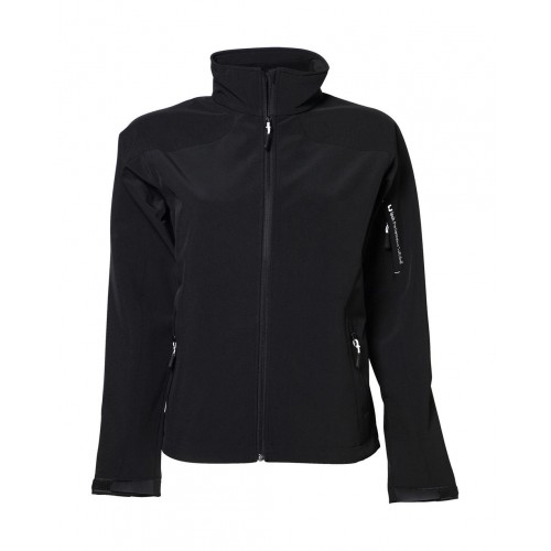 Softshell personnalisé femme Performance Stretch 90% polyester, 10% spandex, 270 g/m² tissu stretch léger