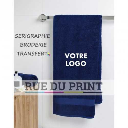 Serviette publicité invité Nile 550 g/m² 100% coton serviette invité
