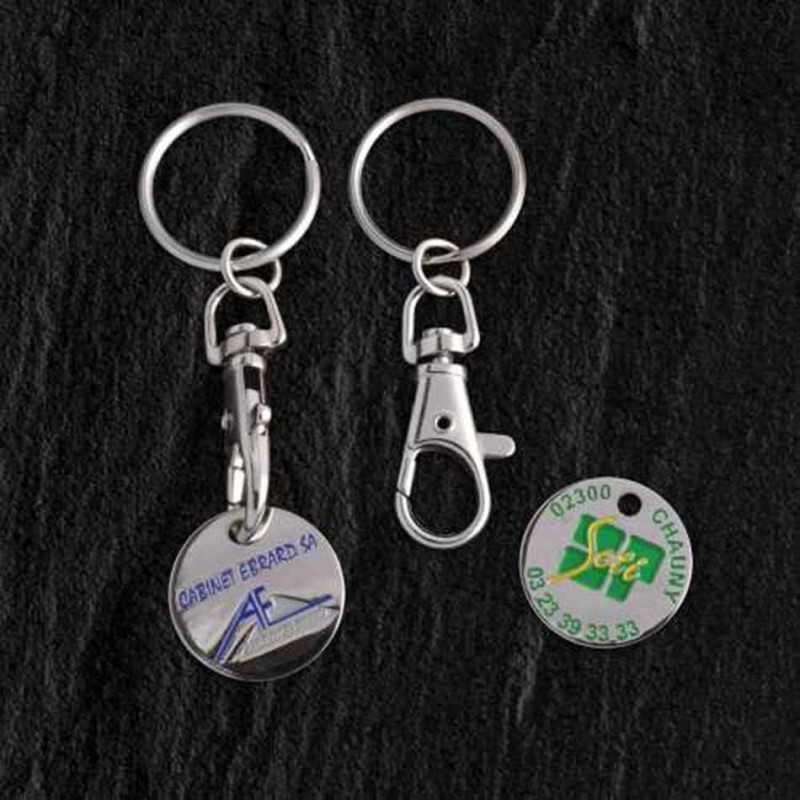 Porte-clés jeton classique