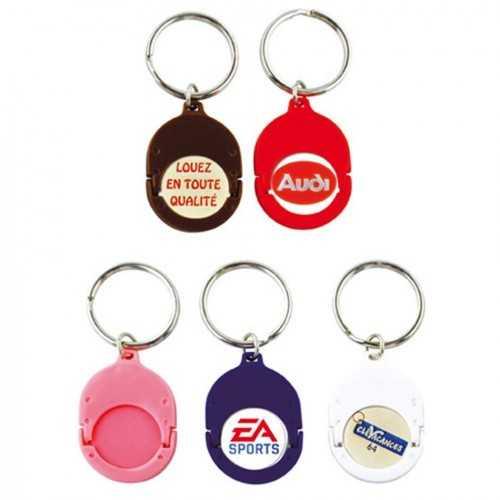 Porte-clés jeton attache plastique