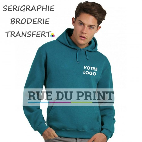 Sweat shirt à capuche doublée
