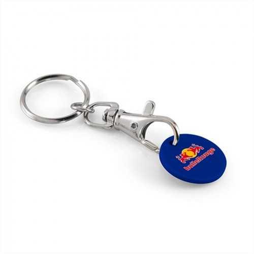 Porte-clés jeton classique + jeton plastique