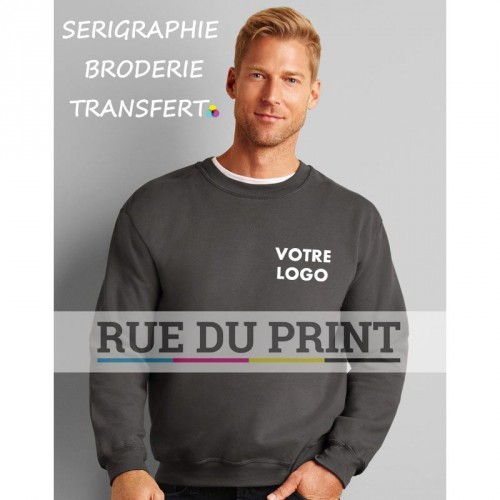 Sweat shirt publicité Classic Crewneck