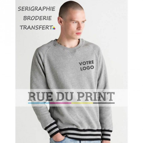 Sweat shirt rayé homme Superstar