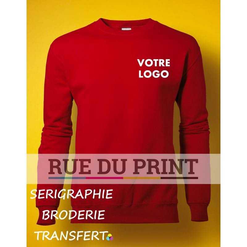 Sweat shirt publicité manches set-in 280 g/m² 80% coton peigné à fil de chaîne continu, 20% polyester (Light Ofxford: 70% coton