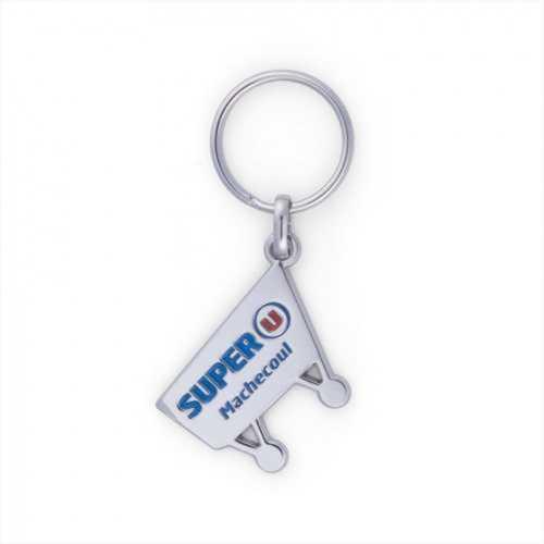 Porte-clés ZAMAC émail premium