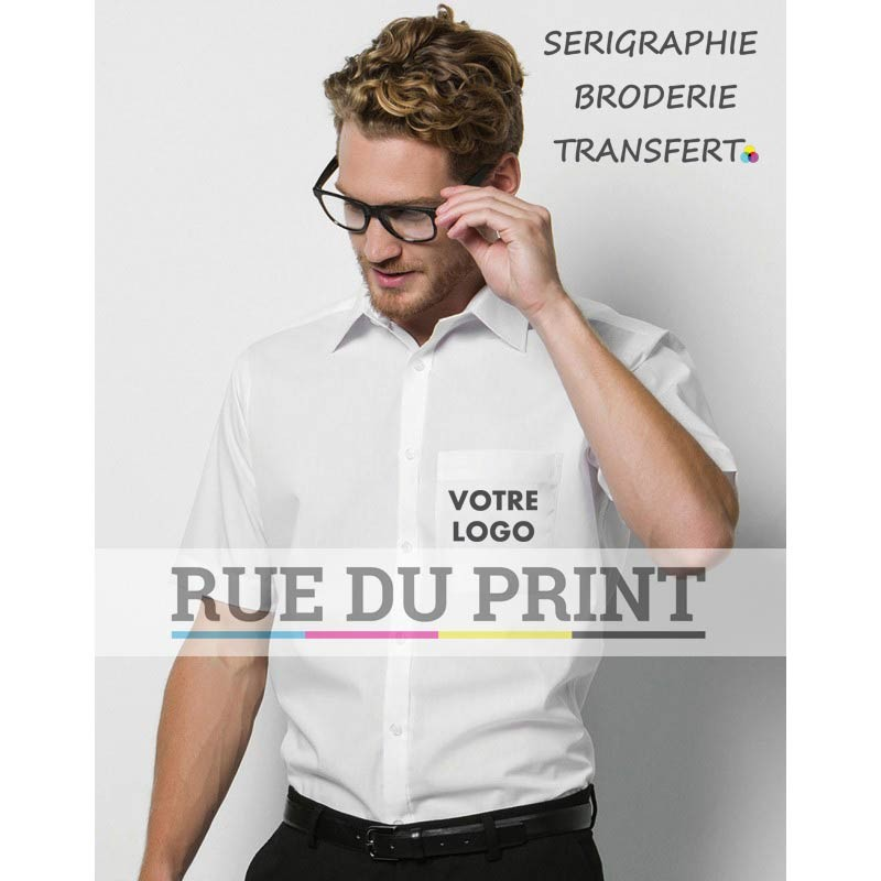 Chemise manches courtes Business