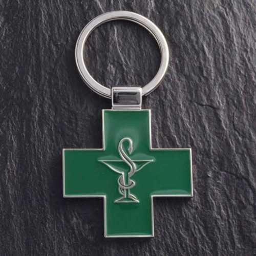 Porte-clés ZAMAC pharmacie