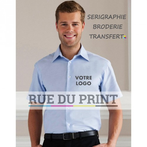 Chemise manches courtes S/SL Oxford
