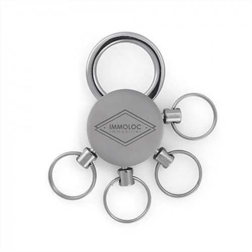Porte-clés multi ronds
