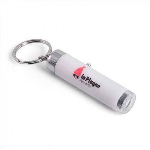 Porte-clés projecteur de logos
