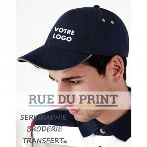 Casquette publicité Ultimate 100% coton (drill) 6 coutures sur la visière ajusteur Rip-Strip™
