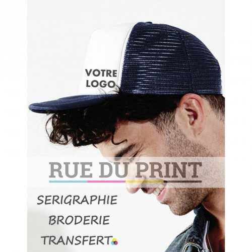 Casquette publicité Vintage Snapback panneau avant et visière: 100% coton panneaux à l'arrière: 100% polyester (filet) 5 panne