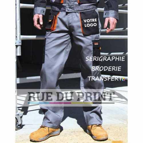 Pantalon publicité Lite 80% polyester, 20% coton (sergé), 200 g/m² Poids léger