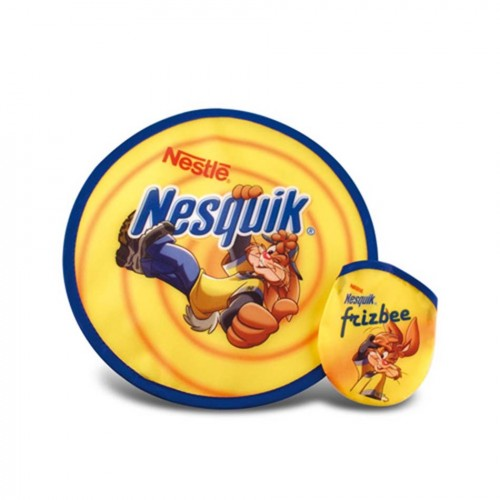 Frisbee pliable quadri