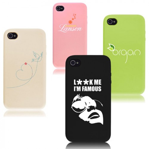 Coque silicone pour iphone 4/5/6