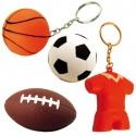 Porte-clés balle antistress-série 1