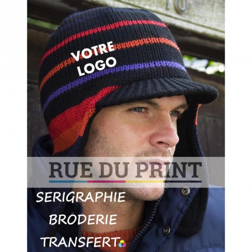 Chapeau publicité Navy-Orange-Red-Black-Purple avec logo Traka Sherpa