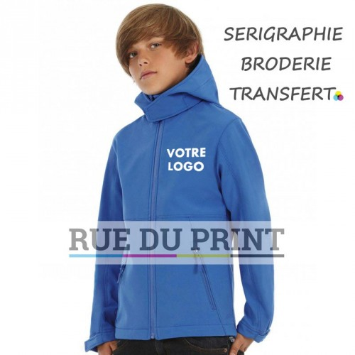 Veste waterproof enfants