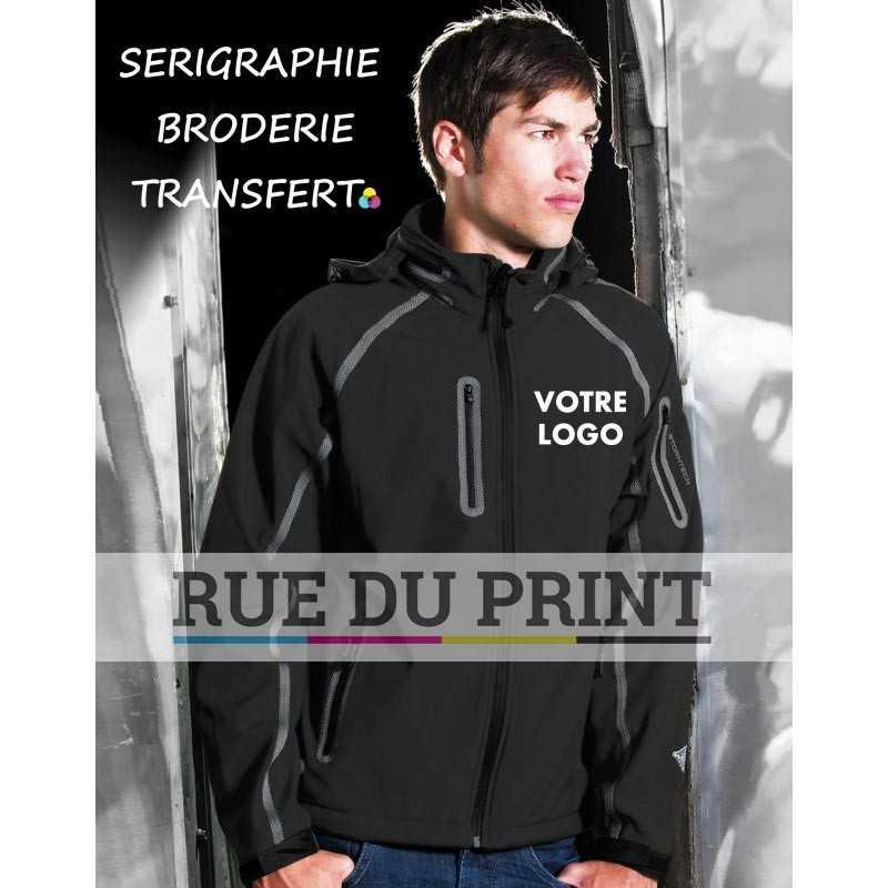 Veste publicité homme Apollo HEXTREME® 300 g/m² 100% Polyester mélangé avec 100% micro-polaire avec membrane waterproof