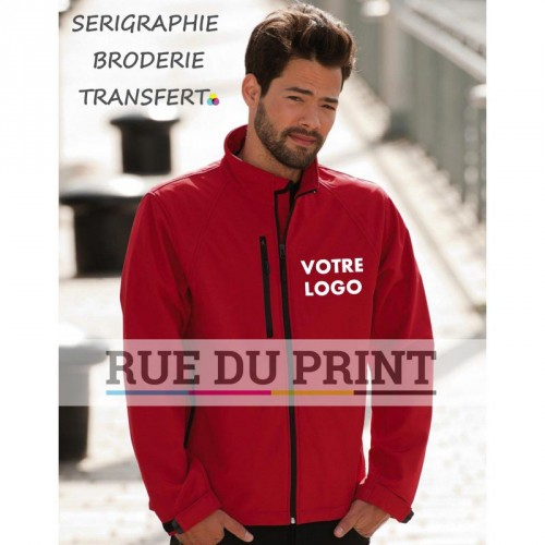 Veste coupe-vent waterproof