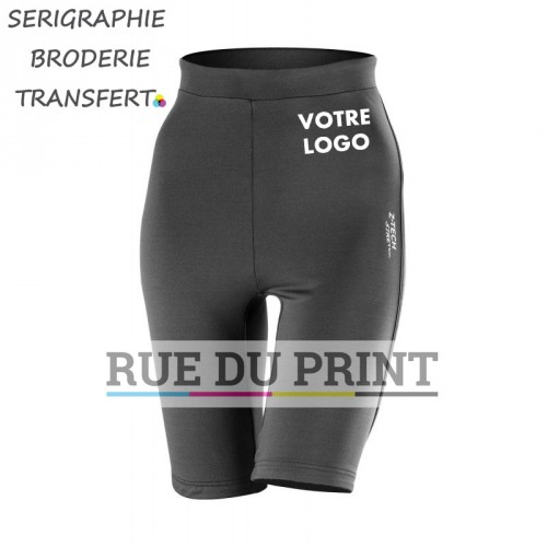 Short publicité femme Spiro 248 g/m2 stretch Z-TECH® 92% polyester, 8% spandex respirant