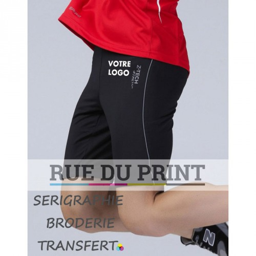 Short publicité Spiro Sprint 248 g/m2 stretch Z-TECH® 92% polyester, 8% spandex