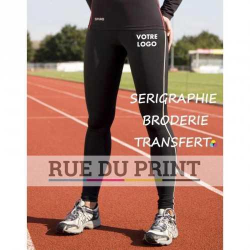 Legging publicité femme Bodyfit 200 g/m2 80% polyamide (nylon), 20% élasthanne