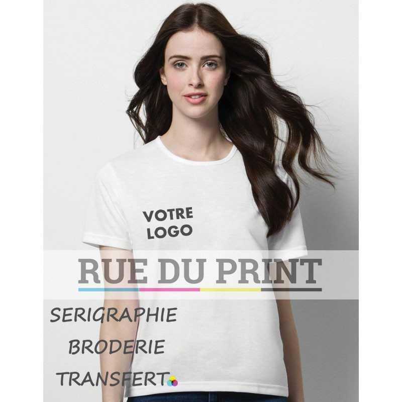 Tee-shirt publicité femme Subli Plus 210 g/m2 100% Polyester évacue l'humidité