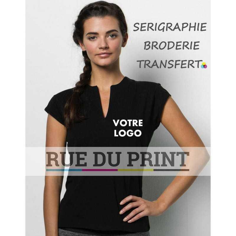 Haut publicité Fitness femme Gamegear® 200 g/m² 95% Coton, 5% Elasthanne