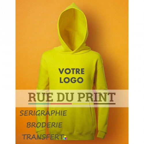 Sweat shirt enfant poche kangourou