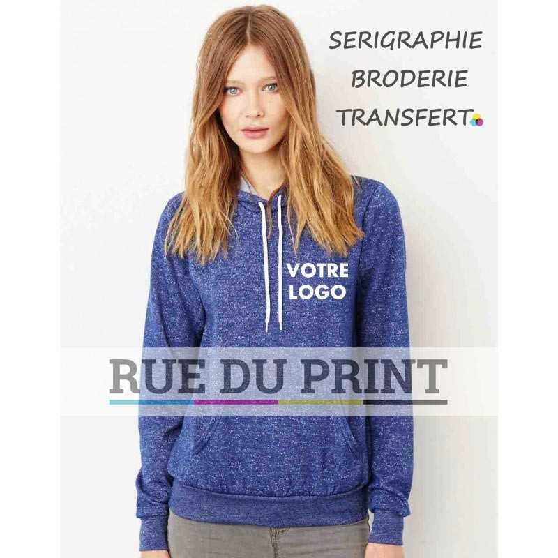 Pullover publicité Unisexe 220 g/m2 60% coton peigné ringspun, 40% polyester couleurs unies: 100% polyester