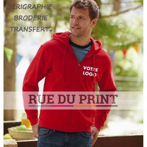 Veste publicité Sweat Shirt 280 g/m² 80% coton (fil Belcoro®), 20% polyester