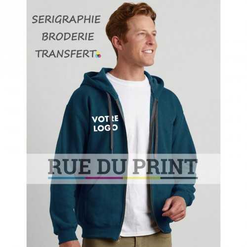 Sweat shirt publicité Vintage 270 g/m² 50% Coton, 50% Polyester prérétréci