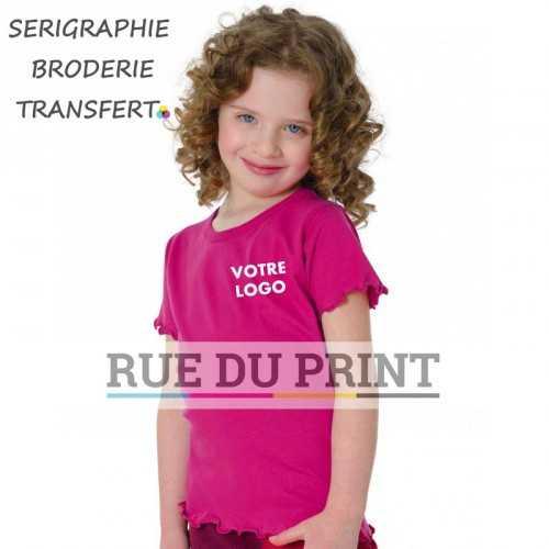 Tee-shirt fille Fashion
