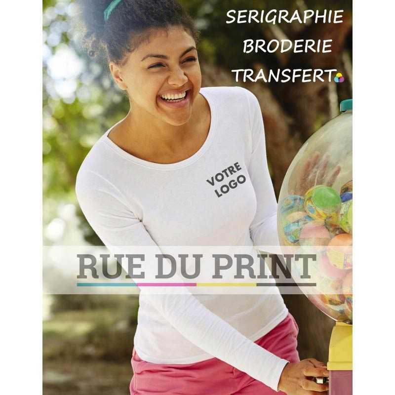 Tee-shirt Fit S-L femme