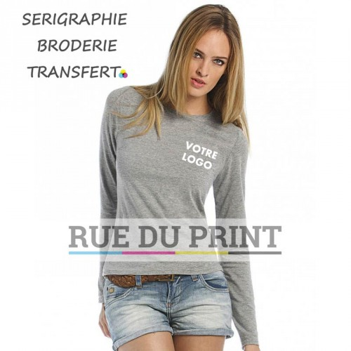 Tee-shirt manches longues femme