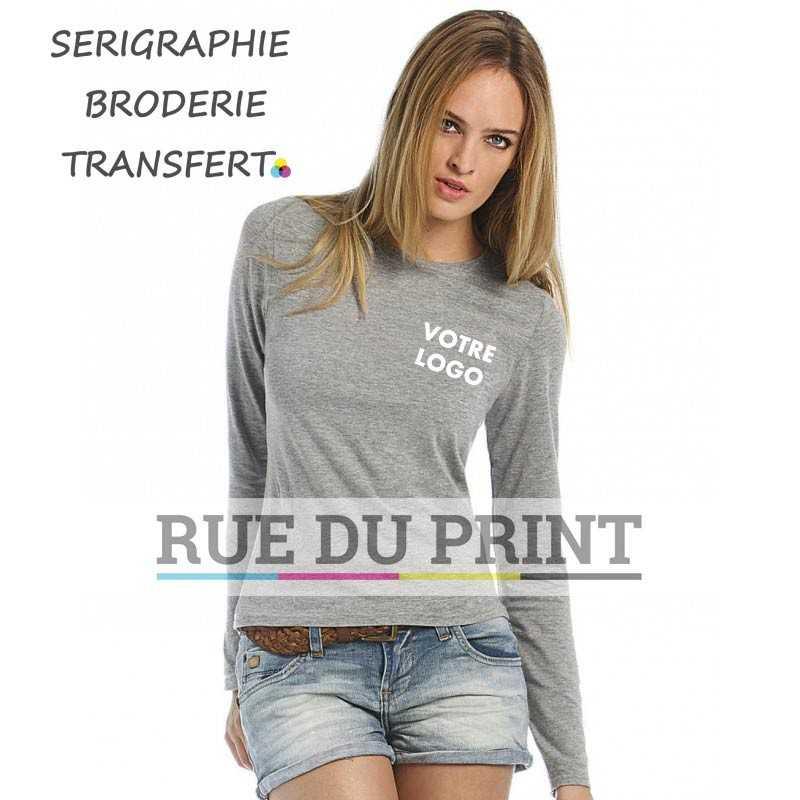 Tee-shirt manches longues femme