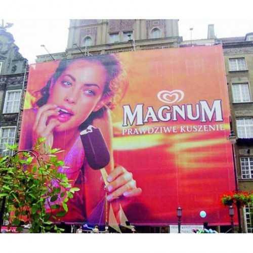 Impression grand format : La banderole publicitaire