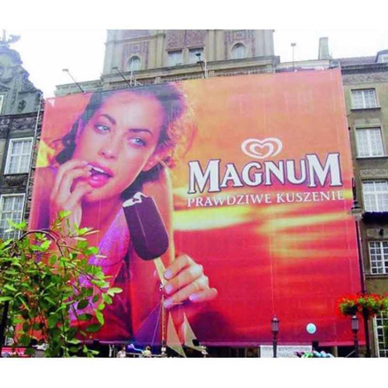 banderole publicitaire Magnum