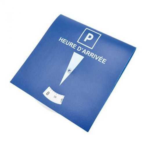 Disque stationnement PVC bleu