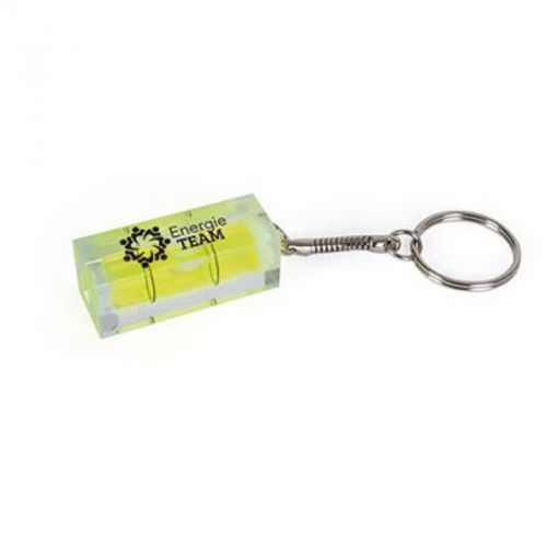 Porte-clés niveau transparent