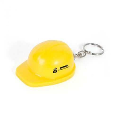 Porte-clés casque décapsuleur blanc