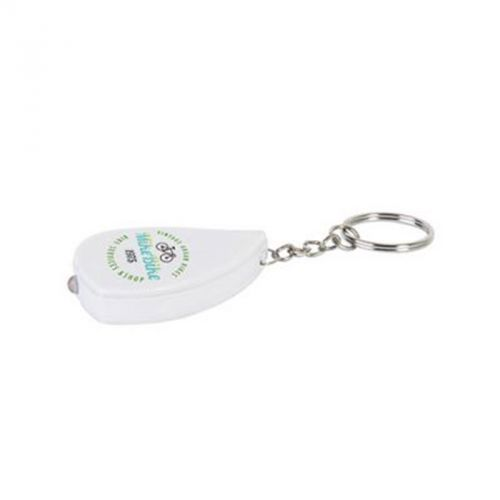Porte-clés 1LED blanc