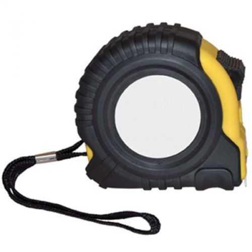 Mètre ruban 8 m noir/jaune